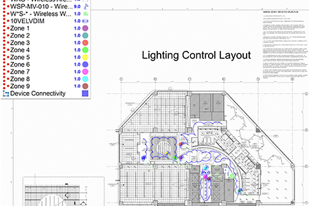 Space Planning with Lighting and Controls Image Frame