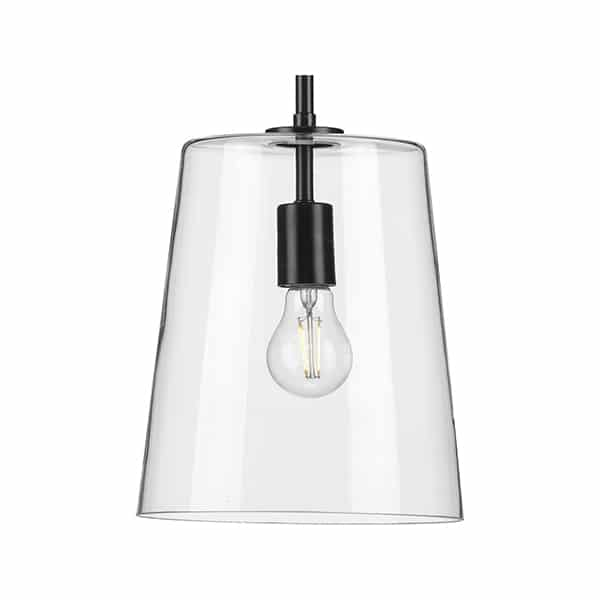 Clarion 1-Light Clear Glass
